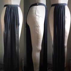 Minimal burlesque or boylesque panel skirt by DelilahBurlesque