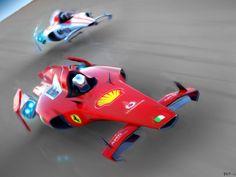 will this be the future of Hover Bike, Reverse Trike, Flying Car, Bobber Chopper, Ferrari Car, Futuristic Cars, Cool Technology, F1 Racing, Car Wheels