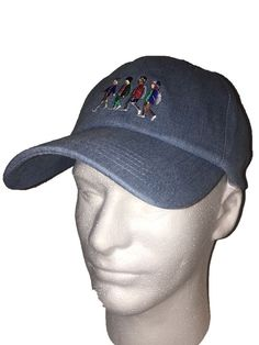 9e2ea76a7f1 Stranger Things Strap Back Denim Style Hat Brand New Adjustable Netflix One  Size  Loungefly
