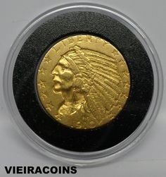 1910  INDIAN  HEAD   $5  GOLD   -  Mintage Only: 604,000 coins  -    #5209