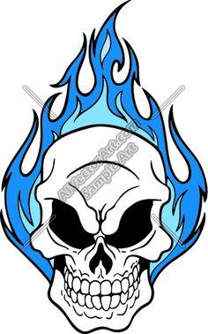 Evil Skull Tattoo, Skull Tattoo Design, Skull Design, Skull Tattoos, Body Art Tattoos, Tattoo Drawings, Art Drawings, Skull Stencil, Tattoo Stencils