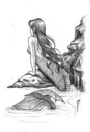 33 Best Mermaid Drawing Images Sketches Character Design Drawing