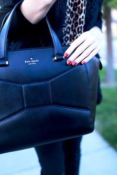 The Kate Spade Beau Bag- its everywhere but I love it!