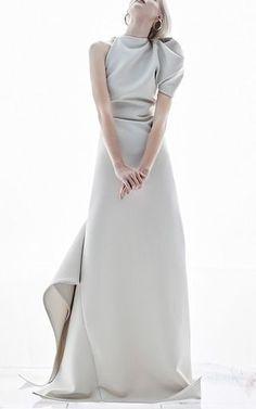 Visibly Interesting: Maticevski One Shoulder Gown SS17