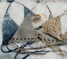 Sieh dir dieses Produkt an in meinem Etsy-Shop https://www.etsy.com/de/listing/466817362/crochet-bikini-top-hakelbikini-top