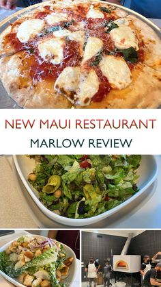 Chef Jeff Scheer strikes again with what we believe to be the best pizza on Maui!They just opened in the new commercial buildings across from Long's Pukalani. Currently open 4:30pm – 9pm. No reservations, so get there early! #chef #mauidining #diningmaui #mauirestaurants #mauirestaurant #restaurants #newrestaurant #newrestaurants #maui #hawaii #mauihawaii #pizza #pizzeria #hawaiianpizza #jeffscheer #restaurantreviews Farm Restaurant, Restaurant Coupons, Star Noodle, Pizza Pizzeria, Maui Restaurants, Sourdough Pizza, Gluten Free Crust, Drink Menu, Chopped Salad
