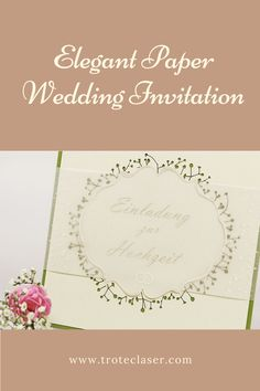 Create an elegant wedding invitation with the finest details. We made this on our 120 watt Speedy 400. Check out our step-by-step tutorial with FREE graphics files! #troteclaser Trotec Laser, Free Graphics, Elegant Wedding Invitations, Wedding Paper, Events, Weddings, Create, Check, Diy
