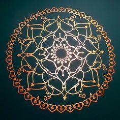 Mandala - wall decoration | Flickr - Photo Sharing!