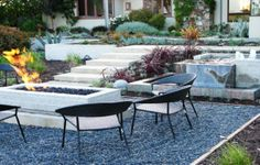 Adding Ikea Patio Furniture As Your Outdoor Furniture: Outdoor Gravel Patio IKEA Chair Furniture ~ lanewstalk.com Outdoor Furniture Inspiration