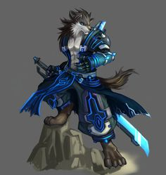 werewolf warrior | Furry Werewolf Warriors | Publish with Glogster!