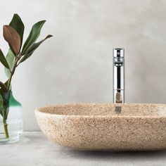 Woodio washbasins with soft and clear lines, bringing out the unique wooden material. Small Appartment, New Farm, Sophisticated Style, Scandinavian Style, Basin, Different Colors, Innovation, Haku, Wood Composite