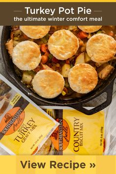 Chicken Soup Recipes, Turkey Recipes, Dinner Recipes, Easy Delicious Recipes, Yummy Food, Country Biscuits, Fast Cooker, Roast Gravy, Best Turkey