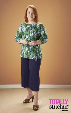Kelly Laws shares her sewing journey with my pattern, Monterey Knit Collection.