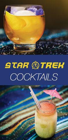 Drink Long and Prosper: 6 Stellar Star Trek Cocktails! Raise a glass to the original series' 50th anniversary.