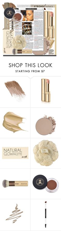 """beauty trend"" by licethfashion ❤ liked on Polyvore featuring beauty, Dolce&Gabbana, twenty2, GlamGlow, Anastasia Beverly Hills, River Island, BeautyTrend, strongbrows and boldeyebrows"