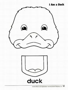 free muppet puppet patterns to print | Farm animal Paper bag puppets
