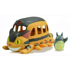 My Neighbor Totoro Go Go Catbus Vehicle for the Ghibli PVC sets.  Got this!