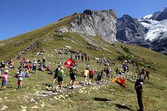 I so want to run this marathon. Jungfrau, Switzerland.