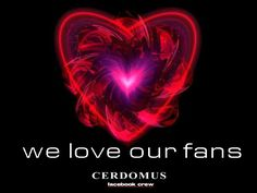 we love our fans...and followers... and pinners!