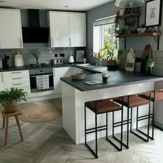 24 Modern Farmhouse Kitchen Designs For You Dream Home 24 modern. 24 Modern Farmhouse Kitchen Designs For You Dream Home 24 modern farmhouse kitchen Kitchen Room Design, Modern Kitchen Design, Kitchen Layout, Home Decor Kitchen, Interior Design Kitchen, Kitchen Furniture, New Kitchen, Kitchen Designs, Kitchen Ideas