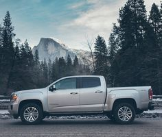 Sometimes you just need to stop and take in the view: GMC Canyon.