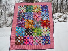 Kathy's Quilting Blog: Friday Finish -- Hip to Be Square Challenge with Pat Sloan
