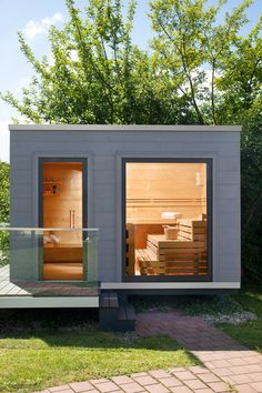 Outdoor Sauna, Outdoor Decor, Fantasy Suites, Sauna House, Traditional Saunas, Sauna Design, Outdoor Living, Living Spaces, Cottage