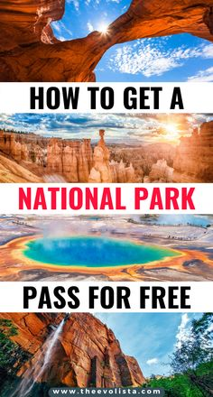 Tips to get a free US National Park America the Beautiful Pass | Get the best value from a United States National Park Pass | National Parks United States | National Parks Road Trip | National Park Passport | National Park Hiking | Zion | Arches National Park | Great Smoky Mountains | Grand Canyon | Yosemite | Yellowstone | Grand Teton | Acadia | Bryce Canyon | Death Valley | Sequoia | Joshua Tree | Olympic National Park | Glacier National Park #usa #nationalparks #roadtrip #traveltips… Cool Places To Visit, Places To Travel, Travel Destinations, Amazing Destinations, National Park Passport, National Parks Usa, Usa Travel Guide, Travel Usa, Bryce Canyon