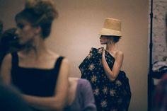 Ulyana Sergeenko - SS12 Backstage