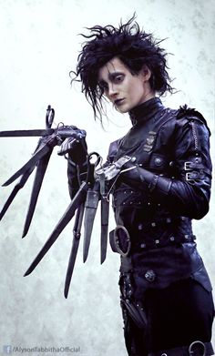 Edward Scissorhands Cosplay by AlysonTabbitha