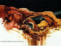 Michael Atkinson-Inspiration Arches limited edition art print. Desert Sunset, Southwest Art, Figure Painting, Arches, Sculptures, Art Prints, Landscape, Artist, Inspiration
