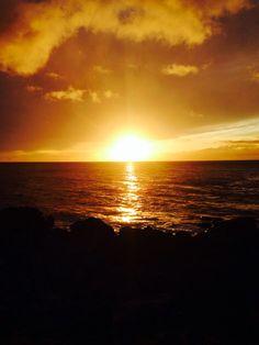 Kapaa sunset Hawaii