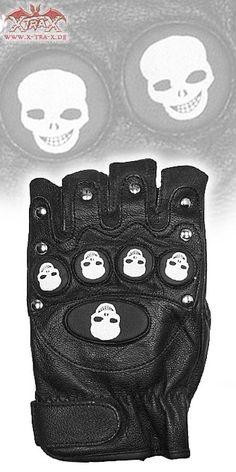 Biker Gloves 'Skulls'