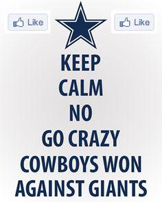 bd9d6c670 Dallas Cowboys win against the Giants Dallas Cowboys Vs Giants