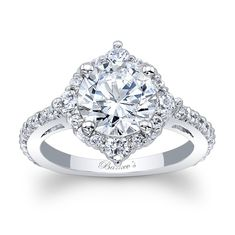 Halo engagement rings boast vintage features that add an element of undeniable charm. If the love of your life is captivated by old world romance and storybook love affairs, Barkev's halo engagement rings are sure to make her weak in the knees. Engagement Ring Buying Guide, Classic Engagement Rings, Princess Cut Engagement Rings, Antique Engagement Rings, Halo Diamond Engagement Ring, Diamond Wedding Rings, Diamond Rings, Oval Engagement, Bridal Rings