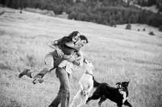Image result for couple with dog