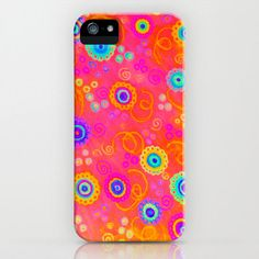 SWIZZLE STICK iPhone Case iPhone 4 4S or 5 5S 5C by EbiEmporium, $39.00 Bold Vibrant intense #neon hot pink raspberry strawberry cherry red rainbow swirls, abstract watercolor painting design, pretty in pink, cheerful feminine girlie girly sweet candy modern stylish fashionable chic style #iphone #case #cell #phone #gift #cover #plastic #tech #techie #device #colorful #madetoorder #custom #art #abstract #iphone4 #iphone4s #iphone5 #iphone5s #iphone5c
