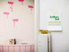 Cute wall decals/stencil