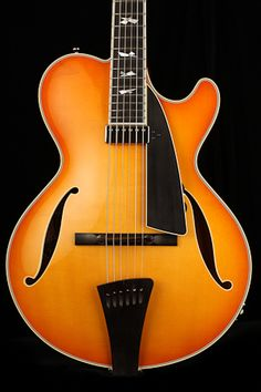 2016 Collings City Limits Jazz Thin-line Electric Guitar in Amber Sunburst Archtop Guitar, Acoustic Guitar, Beautiful Guitars, City Limits, Electric Guitars, Cool Guitar, Austin Tx, Musical Instruments, Bass
