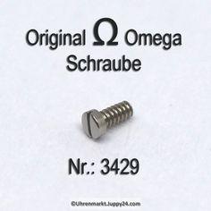 Omega 3429 Schraube für untere Brücke für Automatvorrichtung Part Nr. Cufflinks, Omega Watch, Vending Machines, Aftermarket Parts, Wedding Cufflinks