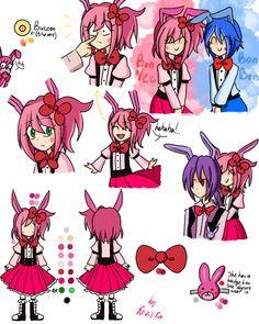 Sister Location Bonnet by Kizy-Ko on DeviantArt Fnaf 5, Anime Fnaf, Pole Bear, Fnaf Characters, Funtime Foxy, Fnaf Sister Location, Emo, Fnaf Drawings, Freddy S