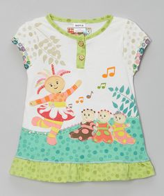 This White Joy of Music Top - Infant, Toddler & Girls is perfect! #zulilyfinds
