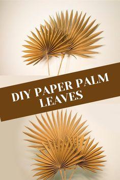 Leaf Crafts, Decor Crafts, Diy Crafts, New Baby Crafts, Paper Flower Decor, Diy Flowers, Easy Paper Flowers, Giant Paper Flowers, Diy Paper