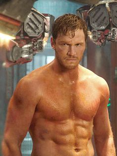 This is the dude from Guardians of The Galaxy.  This is what I wanna look like!!!  I can do this!!  I know it !!!