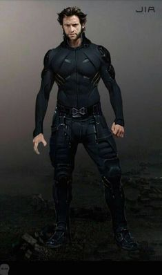 Concept Art Of Wolverine From X Men Days Of Future Past Marvel Universe X Men 92 Wolverine Jubilee Two Pack. Marvel Comics, Marvel Comic Universe, Marvel Art, Marvel Memes, Marvel Concept Art, Wolverine Art, Cyberpunk Character, Marvel Wallpaper, Captain America