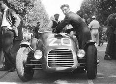 1947 modena gp - franco cortese (ferrari 159c) dnf | by Cor Draijer