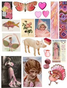 Pink by PaperScraps, via Flickr
