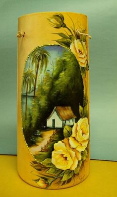 handpainted One Stroke Painting, Tole Painting, Painting On Wood, Decoupage, Painted Rocks, Hand Painted, Cute Drawings, Altered Art, Folk Art