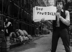 from Dylan's Subterranean Homesick Blues video