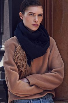 Precious Fibers: Scarves To Wear Now And Forever — THE LINE
